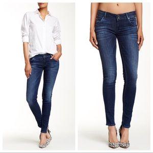 Hudson Jeans -Collin Skinny Electric Clover Jean